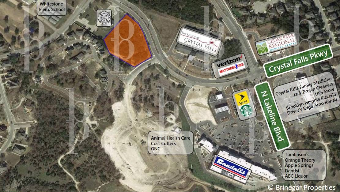 Leander / Sale / Retail Development Site