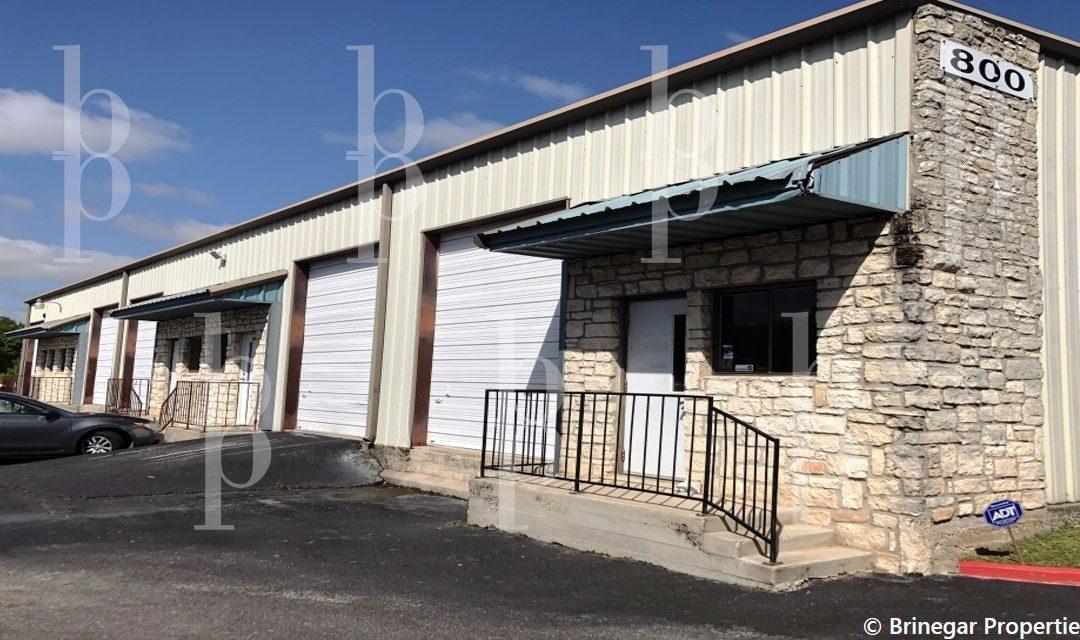 Round Rock / Lease / Office Warehouse • Brinegar Properties 512-940-0188