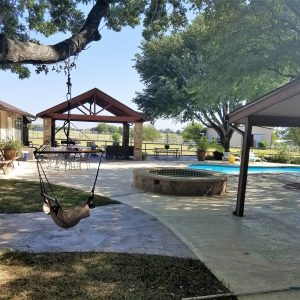 Arbor and Pool