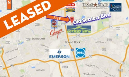 _LEASED / Round Rock / Up to 7,800FT