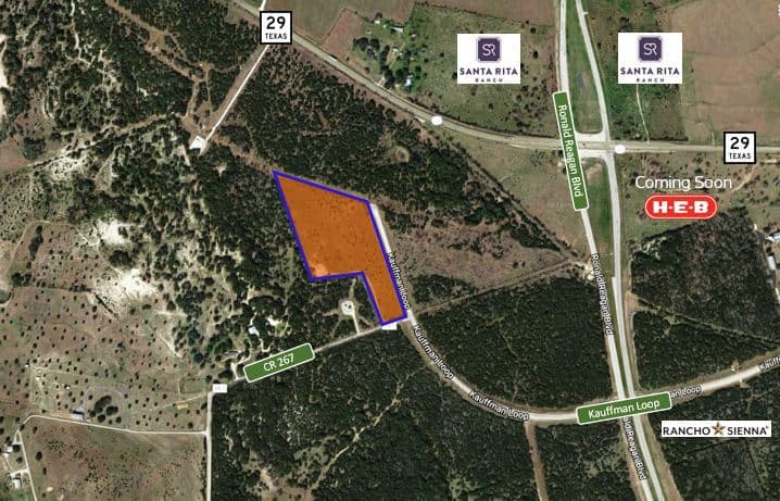 Georgetown / Sale / 13.793 AC for Development