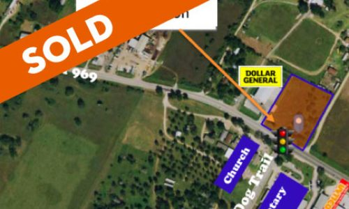 SOLD / Austin / LOT 2.17 AC Commercial Intersection