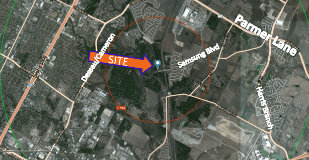 Austin / Sale / 16.45 Acres for Development