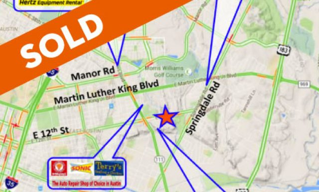 SOLD / Austin / Lot / Redevelopment Opportunity