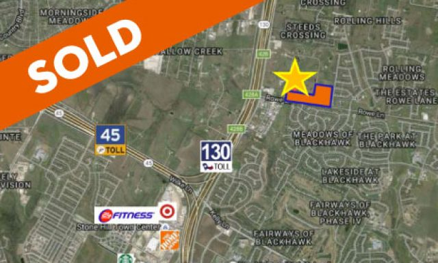 SOLD / Pflugerville / 20 AC / SF-MU Zoned